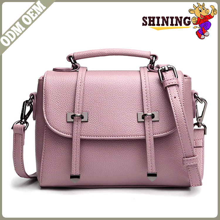 Brand Factory Online Shopping New Style Personalized Pu Leather Canvas Cross Body <strong>Bags</strong> Women