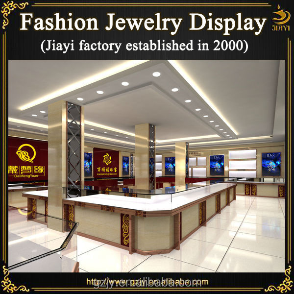 Luxury furniture stores for jewelry display