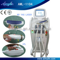 E light rf yag laser hair removal machine AML-1104