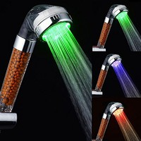 Automatic Color Changing LED Overhead Bath Shower