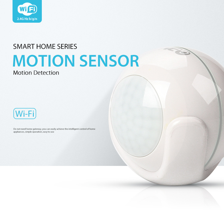 Home Automation Tuya WiFi Smart Motion Sensor Smart Wireless WiFi PIR Motion Detection Sensor