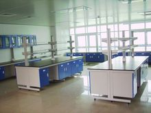 Guangzhou Hopui customized All steel laboratory island banch with strong resistant to acid/alkali
