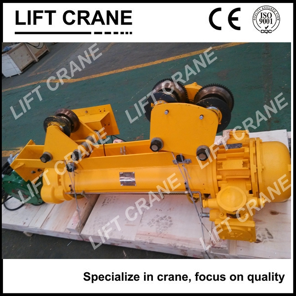 5ton MD Type Wire Rope Electric Hoist For travelling on Monorail with double lifting speed