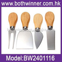4-set cheese knife ,H0T246 resin cheese spreader knife , cheese knife blade