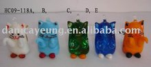 glass cat hangers