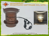 Factory Direct Metal Electric Oil Burner Wholesale ,Fragrance Lamp