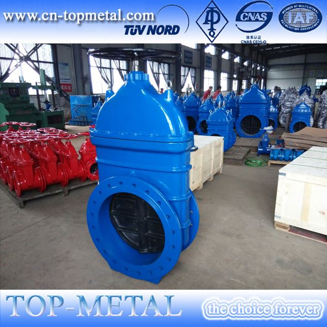 Ductile Iron GGG500-7 12 inch gate valve