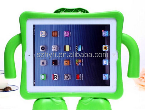 2016 hotsale 9.7 inch rubber foam silicone foam tablet case cover