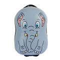 Cute Elephant Pattern Kids Luggage ABS PC Kids Single Trolley Luggage