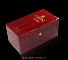 high quality wooden wine box packaging boxes