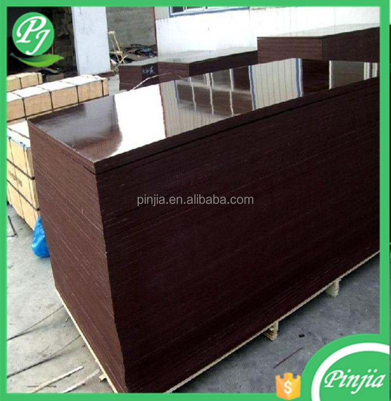 2016 hot sale china factory 1250*2500mm film faced plywood for turkey/marine plywood for Construction