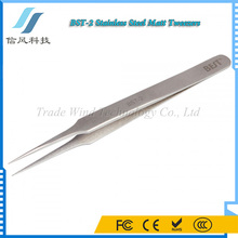 BST-2 Highly Precise Stainless Steel Eyelash Extension Tweezers