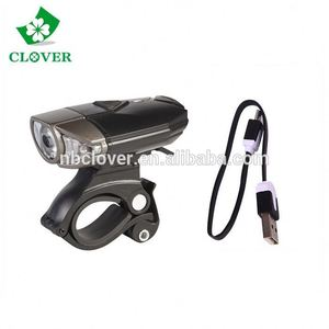 wholesale 300 Lumens front light bike / bicycle lights usb rechargeable