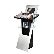 Modern design professional makeup display stand for shop