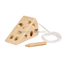Lacing Cheese motor skills toy