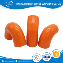 Automotive 45 60 90 135 180 degree bending Silicone rubber Hose Made In China