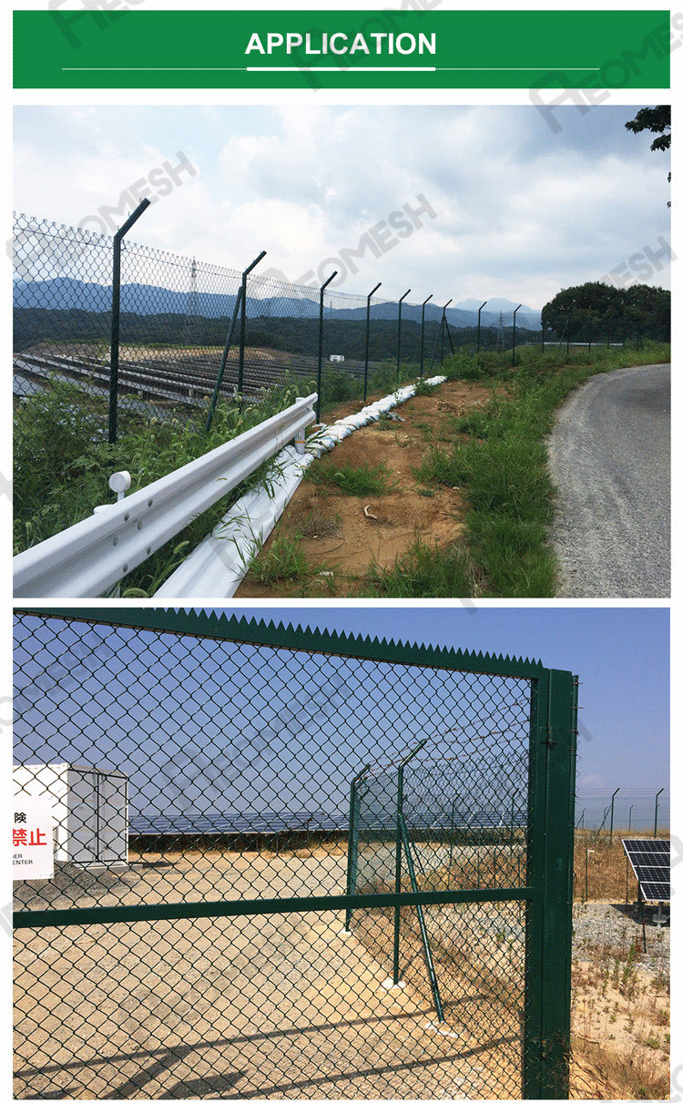 Expanded metal fence/ Cyclone wire fence/ PVC fence & razor barbed wire