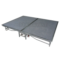 Steel mobile foldable stage for show