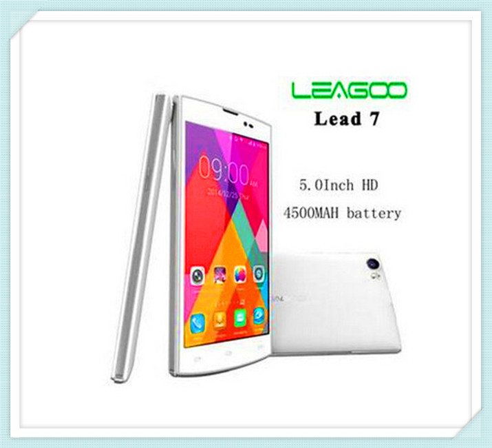 Promotional Original Leagoo Lead 7 5.0 inch IPS Screen 3G Android 4.4.2 Smart Phone