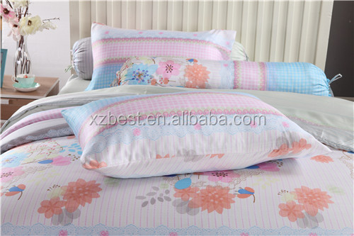 Popular tencel printed bed sheets stock tencel bed sheets