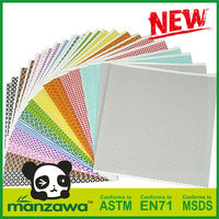 Made in China colorful washi pattern acrylic sheets
