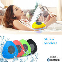 IPX4 waterproof mini bluetooth speaker, shower bluetooth speaker