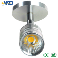 3w cob led track light 90-277V 3 years warranty gallery led track light 3w led track light