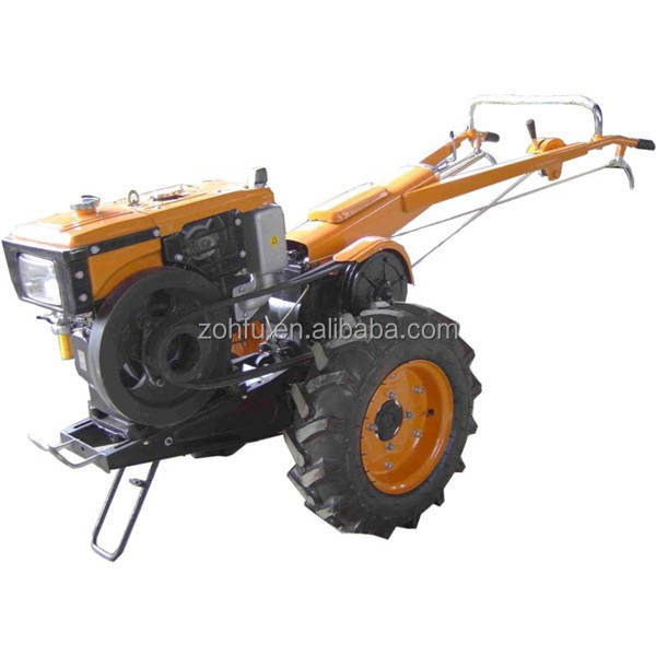 hand tractor with rotary tiller/hand farm walking tractor/hand tractor uses