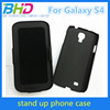 PC Cover Case For Galaxy S4 with Kick Stand