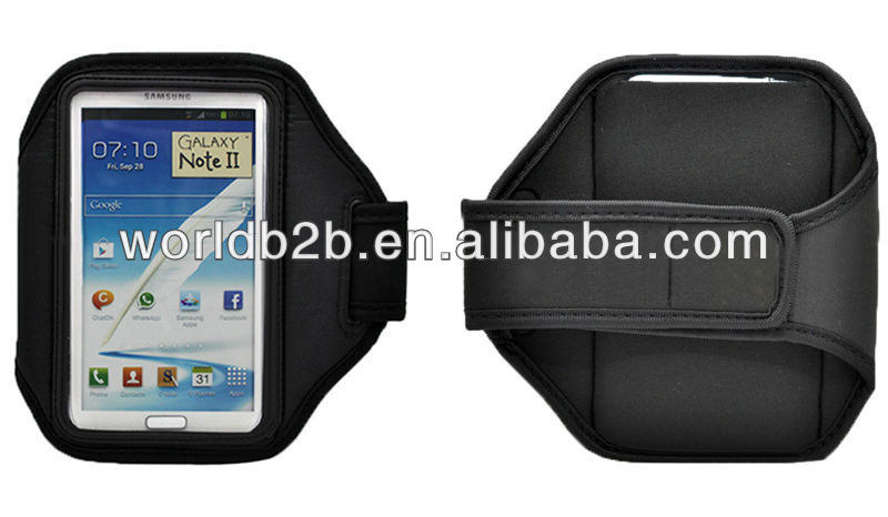 Sports Armband band case for Samsung Galaxy note 2/N7100
