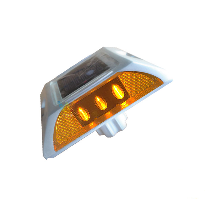 Traffic safety flashing light roadside reflector led solar cat eye road stud light