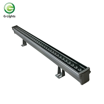 high power outdoor dmx rgb led wall washer light 48w