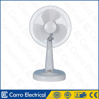 Nigeria market 12v 16inch electric dc battery desk fan hawaiian breeze desk fan