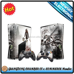 High Quality Protective vinyl skins for xbox360 fat