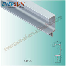 C shape aluminium extruted handle for 16 17 18 19MM panel
