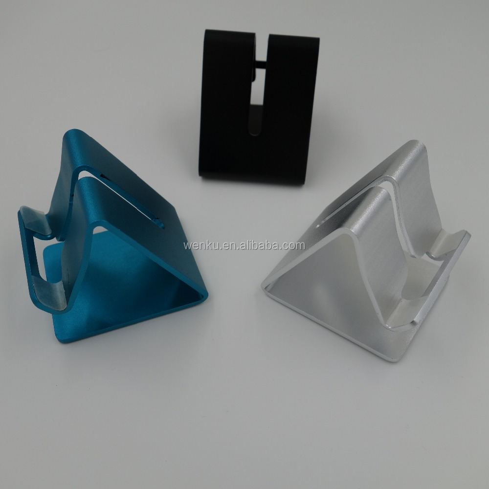 Metal mobile phone holder is suitable for all types of mobile phones tablet PC