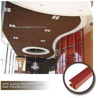 CE/ISO/SGS/TUV hotel design Waterproof cheap plastic ceiling tile