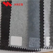 100%Polyester Waterproof Mircodot Nonwoven Interlining Lining Fabric For Shirts And Blouses