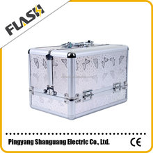 High Quality Aluminum Beauty Box for Makeup Promotion Vanity Case with Lock