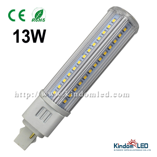 NEW!360 degree leds g24, high power plc 2 pin 4 pin led g24 led lamp