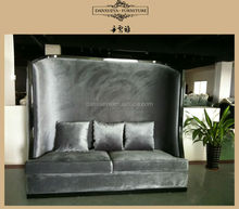 Danxueya furniture factory luxury fabric sofa modern high king back sofa