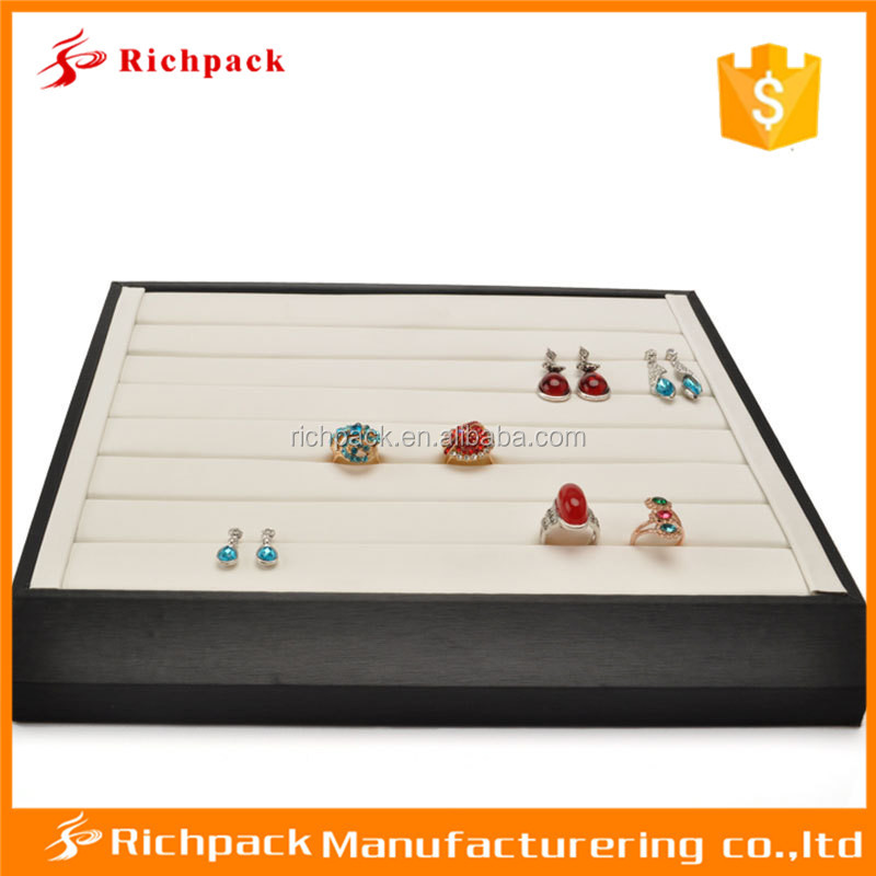 Accept customized various material jewelry tray and pad