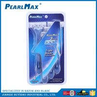 Best selling custom design tripe blades shaving razor directly sale