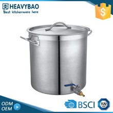 Heavybao Exceptional Quality Satin Polishing Sealed Stainless Steel Thermo Pot