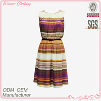 ladies/women fancy/smart manufacturer pictures of casual dress