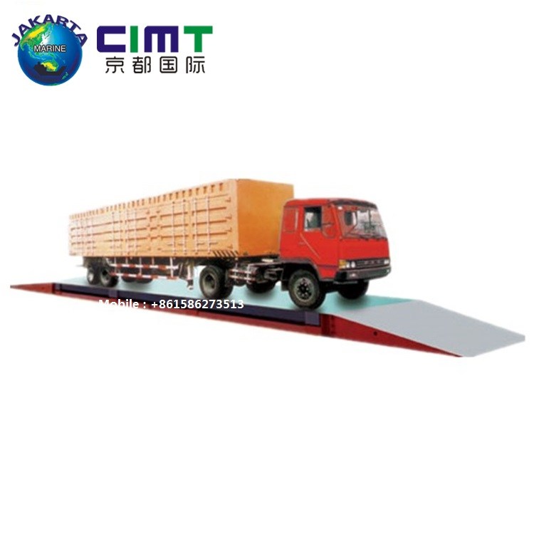 80 Ton High Quality Electronic Digital Truck Sale Lorry Mettler Toledo Weighbridge Truck Weighing Weight Bridge <strong>Scale</strong>