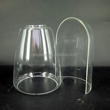 Whole&Half glass dome, glass dome for candle, bell jars cover