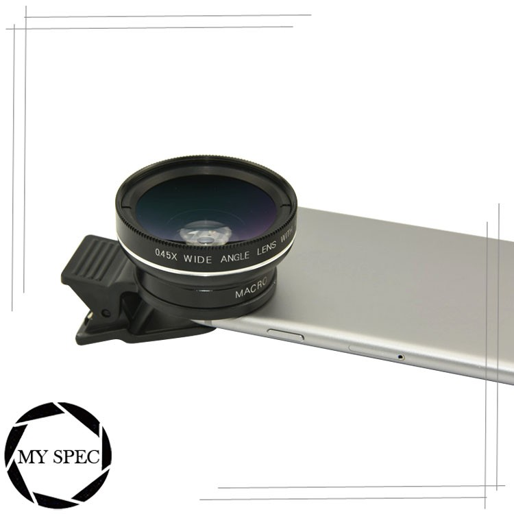 2017 Gadget detachable smart phone wide angle lens macro lens for phone mobile
