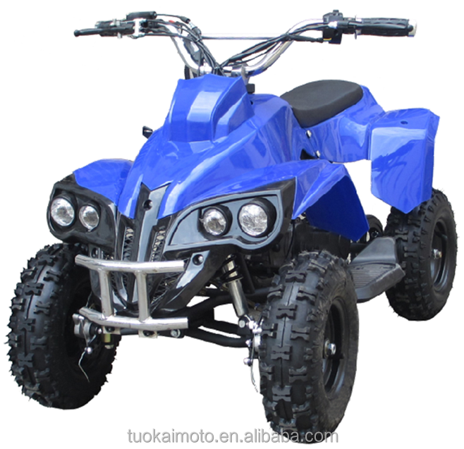 "4"" tire ATV Quad/49cc 2-stroke engine sport ATV with pull start (TKA50-4)"