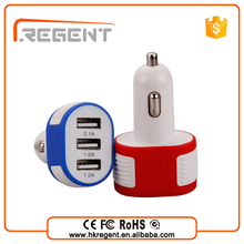 top selling products 2015 car accessories 3 port usb car charger wholesale used cell phones